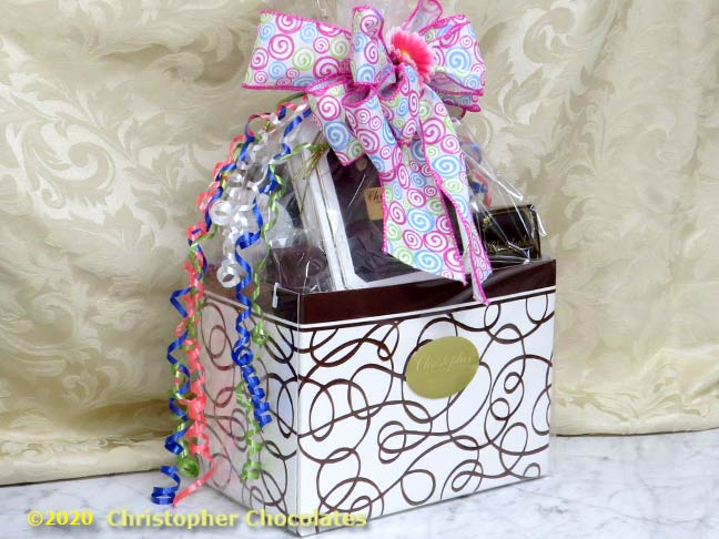 Large Chocolate Box Gift Basket