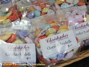 chocolate-seashells