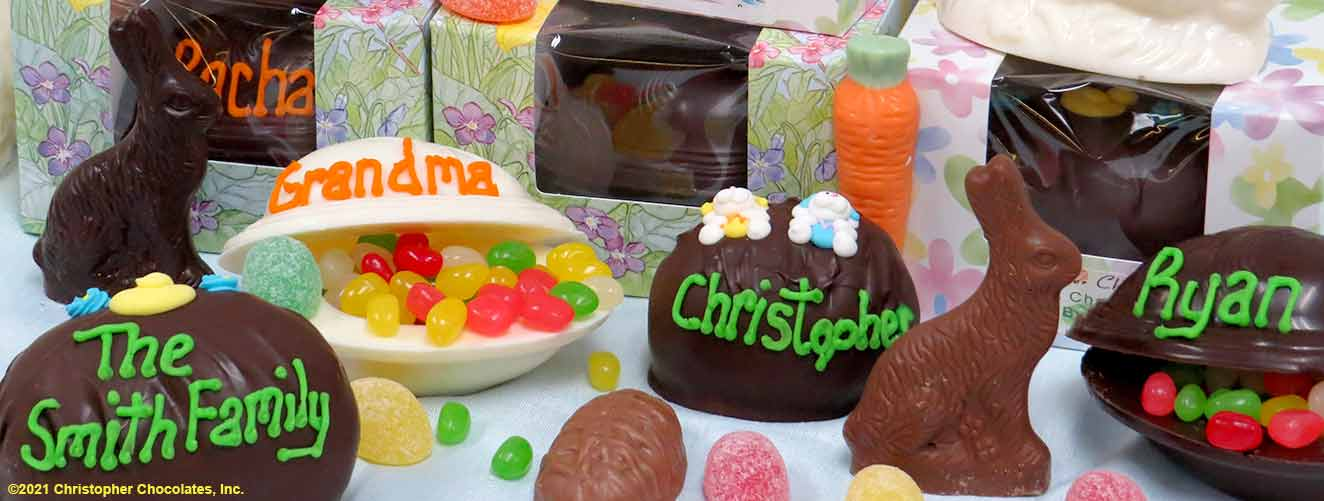 Celebrate Easter with Christopher Chocolates -